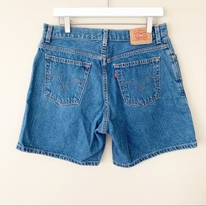 Levi's Vintage High Rise Mom Jean Shorts Size 8